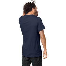 Jack Wolfskin 365 Koszulka Mężczyźni, night blue